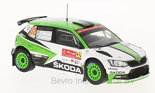 Skoda Fabia R5 No.32 Rally Portugal 2017 Tidemand/Andersson
